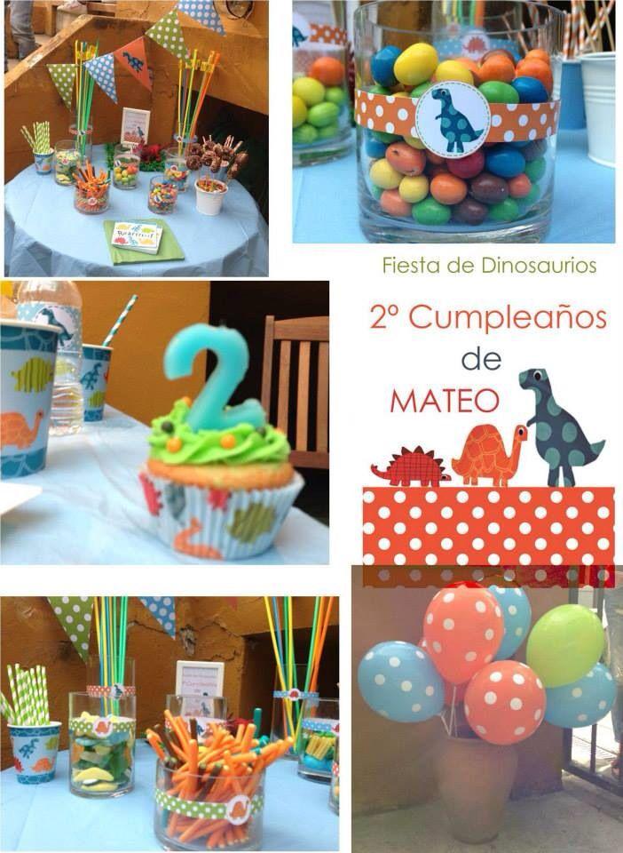 Candy bar dinosaurios fiesta de cumplea os de dinosaurios - Fiesta de cumpleanos infantil ideas ...