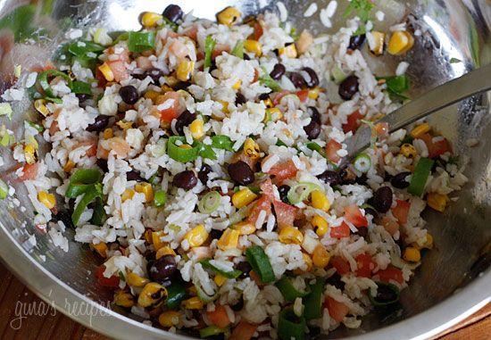 Fiesta Lime Rice | Skinnytaste. Yum tried n true ;) Added a few ...