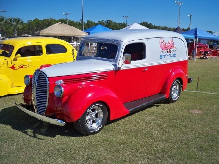 Sweet 39 Ford panel. | Sweet old pick up's & Panel's ...
