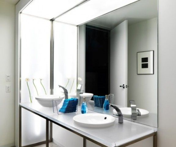 Modern office bathroom design modern office pinterest for Office bathroom designs