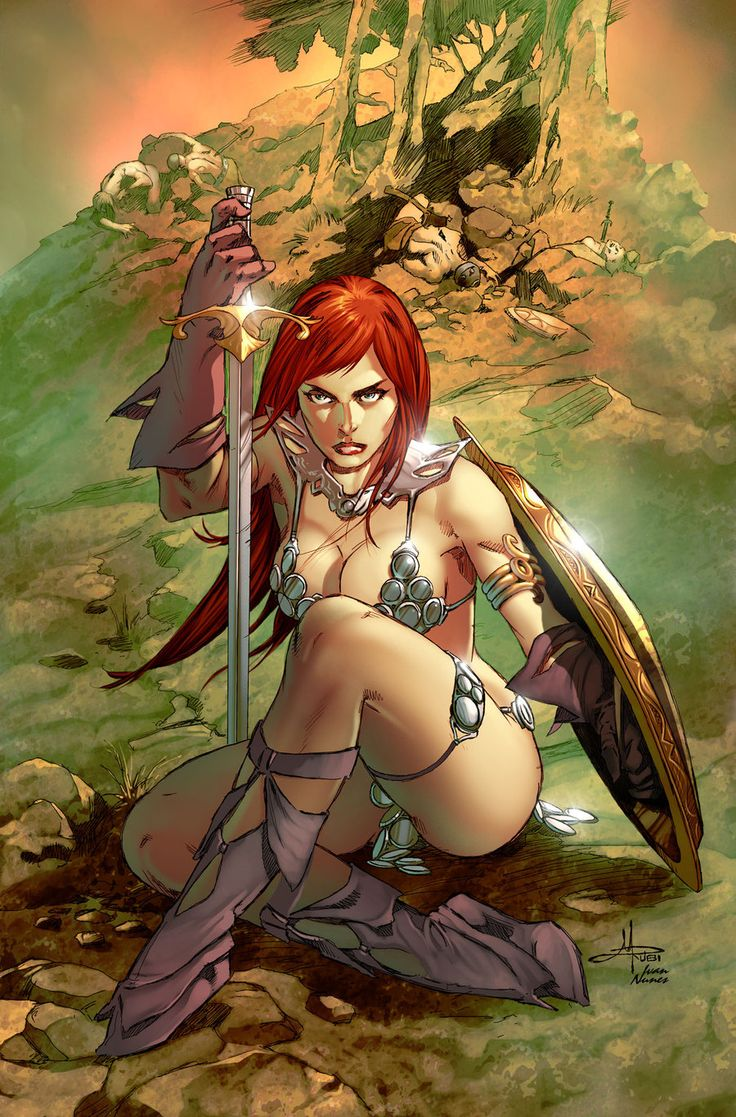 Barbarian woman sex adult picture