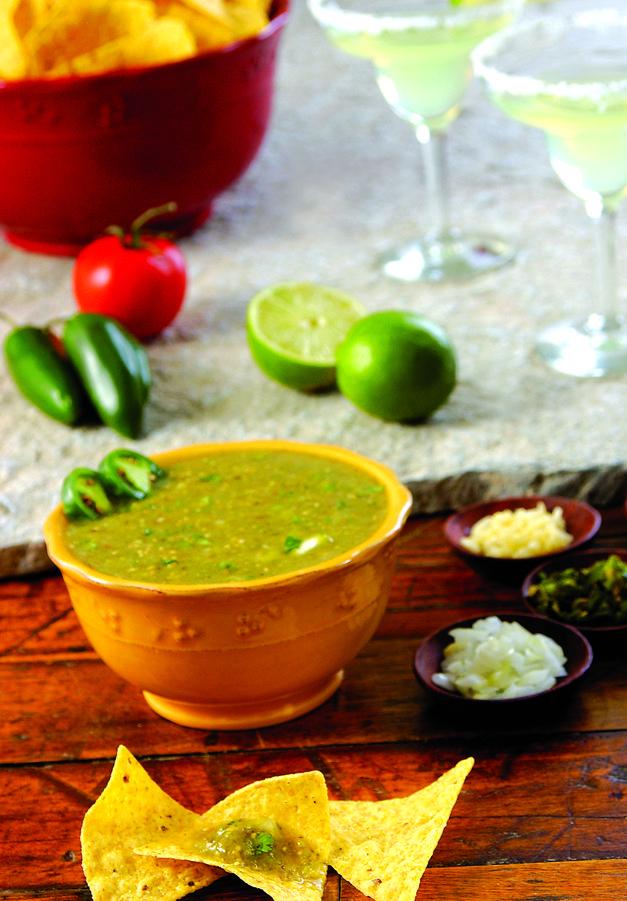 Tomatillo Salsa Recipe with Chipotle Chiles | Sun Valley Magazine # ...
