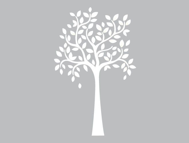 Large Whimsical Tree Wall Decal weeDECOR