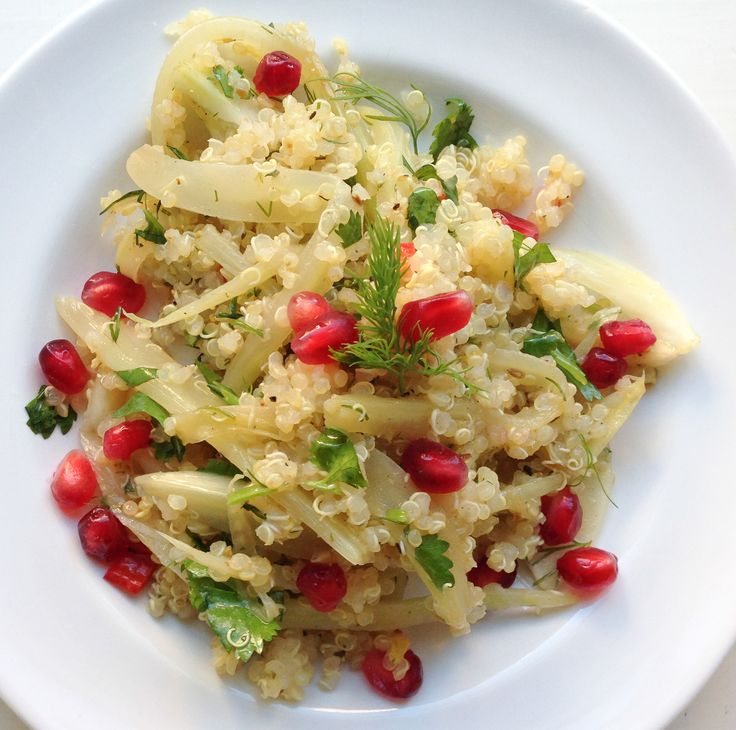 Quinoa, Fennel, And Pomegranate Salad Recipes — Dishmaps