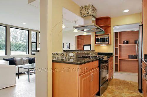 Kitchen Island With Columns Kitchen Remodel Ideas