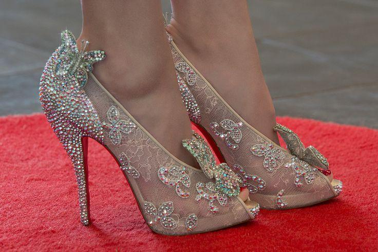 louboutin cinderella shoes shoes pinterest