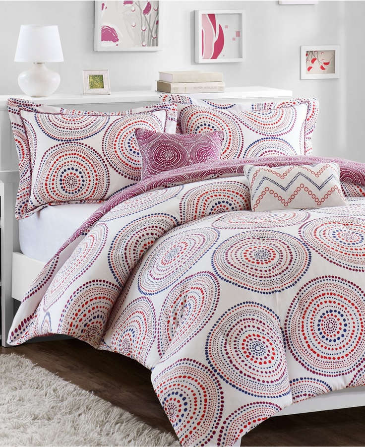 Belize 5 Piece Comforter and Duvet Cover Sets - Bed in a Bag - Bed & Bath - Macy's