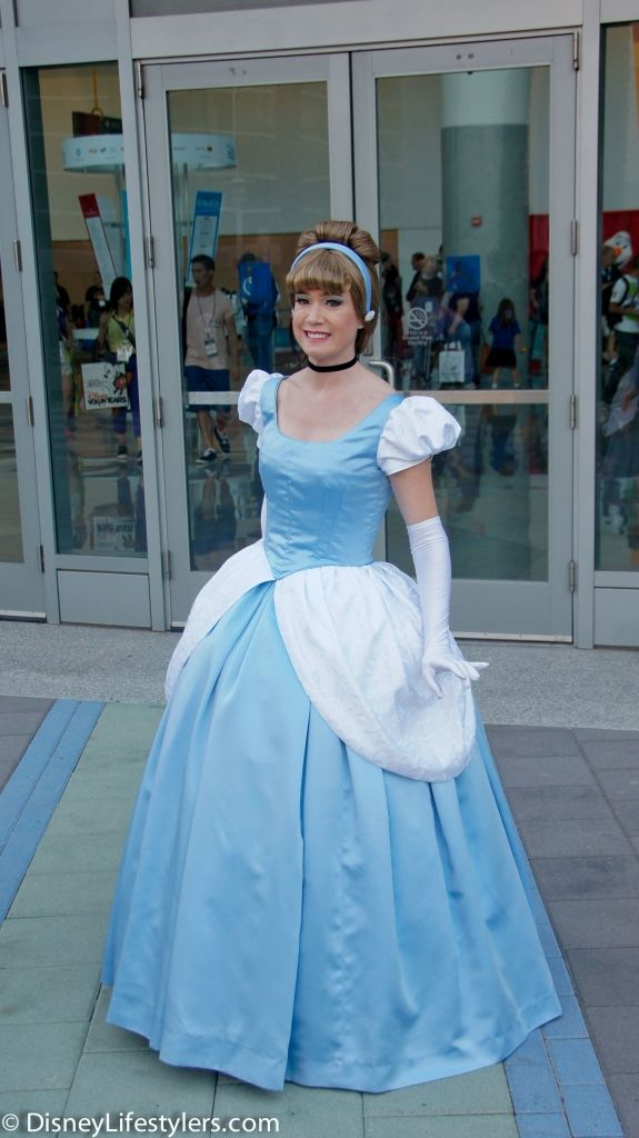 Cinderella, Disney Cosplay at Disney D23 Expo 2013