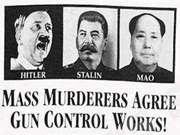 Mass Murderers Agree:  Gun Control Works!