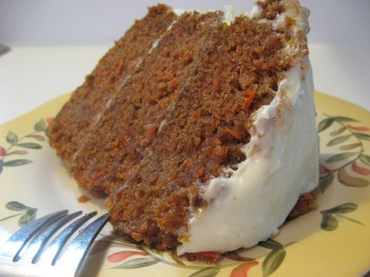 Eggless Carrot Cake X