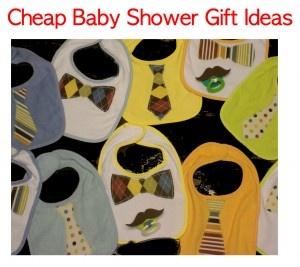 cheap diy baby shower gift ideas
