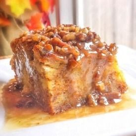 Bread pudding with praline sauce allrecipes.com
