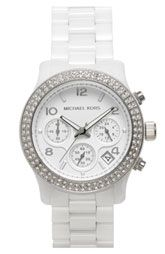 Michael Kors ceramic watch $395