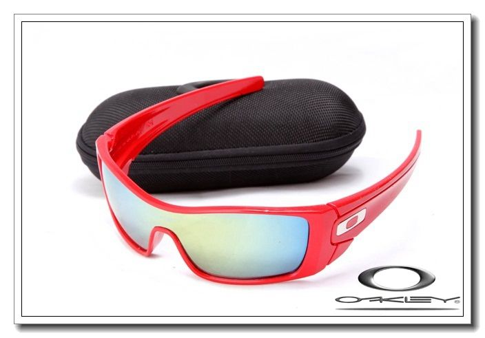 Oakley Batwolf Red Iridium Lens