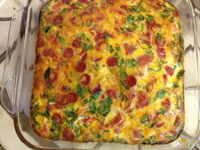 Baked Frittata Italian Style, for Mother's Day. One of my favorite ...
