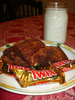Twix Caramel Brownies | Glorious Food I probably Shouldn't Eat, But W ...