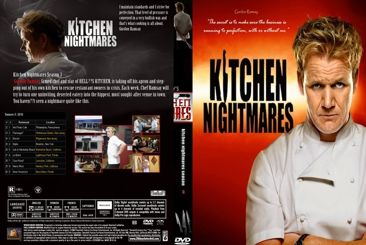 Gordon Ramsay39;s Kitchen Nightmares  Gordon Ramsey, Chefs amp; Hotel Hel