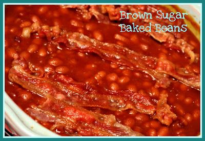 Sweet Tea and Cornbread: Brown Sugar Baked Beans!