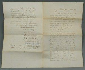 jefferson davis letter to robert e lee