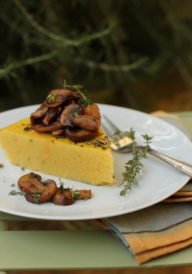 Polenta with mushoom ragu' | Food to make! | Pinterest