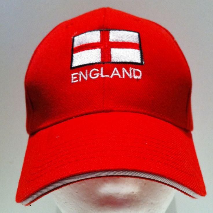 england soccer baseball caps