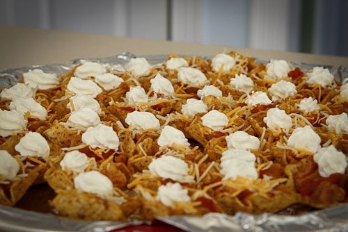 Individual Nacho Appetizer! | recipes | Pinterest