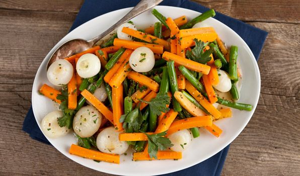 -Mustard Glazed Vegetables (Serve with Prime Rib Roast with Red Wine ...