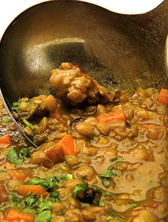 Rustic Lentil Soup | Food!! | Pinterest