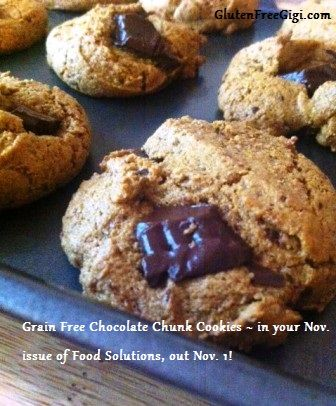 Free Chocolate Chunk Cookies (of course gluten-free, and also free ...
