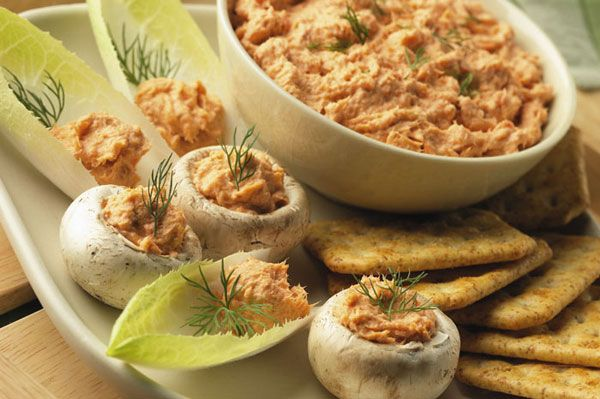 Easy Salmon Spread | mediterranean diet | Pinterest