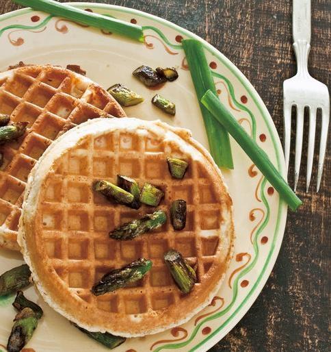 Savory Waffles. Linton Hopkins. Well's Vegetarian Thanksgiving. New ...