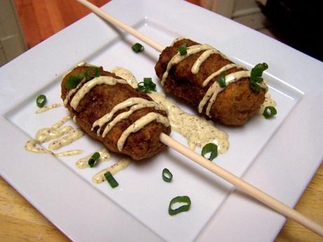 Andouille Corn Dogs Recipes — Dishmaps