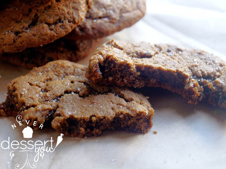 Chewy Ginger Cookies | Never Dessert You | Pinterest