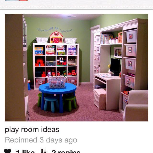 Children s play room