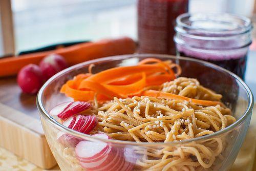 Spicy Peanut Noodles | Eats | Pinterest