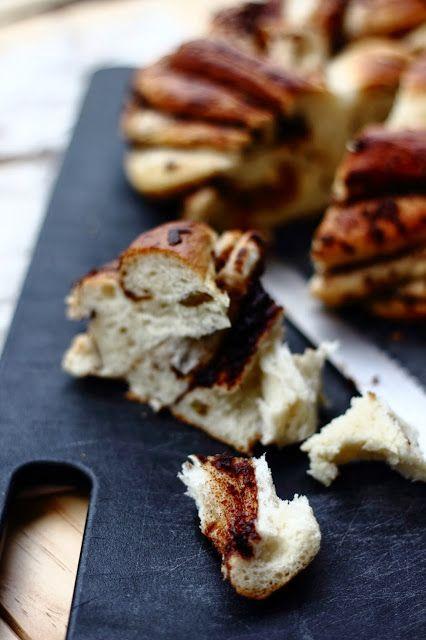 Little Accidents in the Kitchen }: Cinnamon Raisin Twist Bread