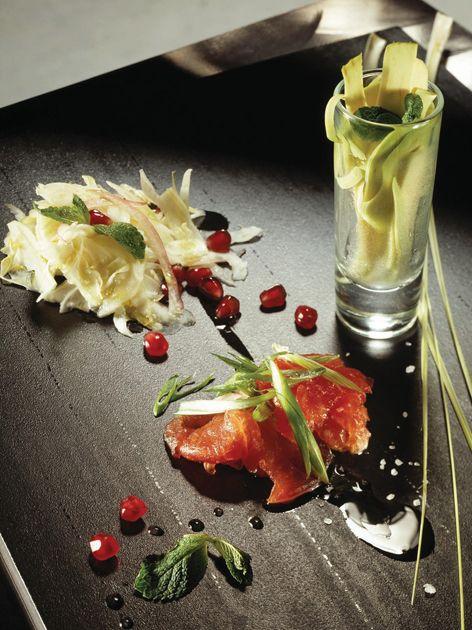 Tuna Tartare, Fennel and Avocado Salad | Italian Food | Pinterest