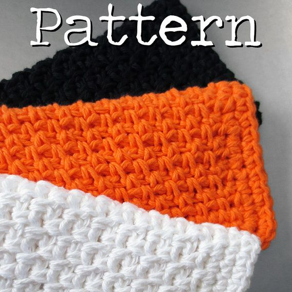 Cotton Crochet Patterns : Crochet PATTERN Simple Cotton Dishcloth with Decrease Single Crochet ...