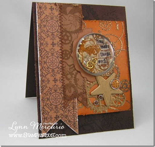 Gear-Glaze-Full - wow...join us this week on the Stampendous Impressions Blog for a week of resin crafts with stamps!