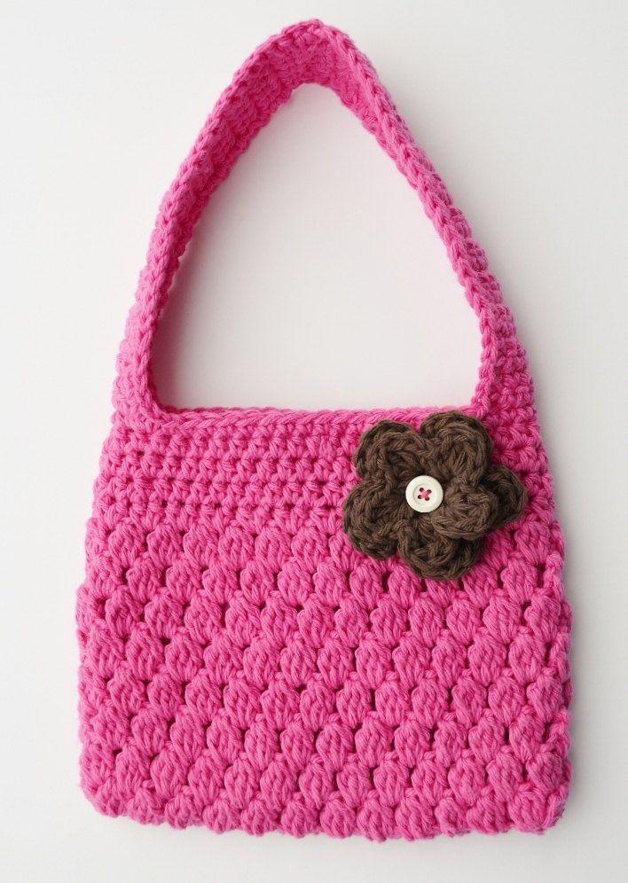 Crochet Purse For Girls : Crochet Purses