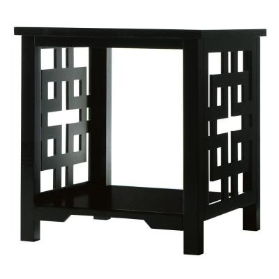 Knot Black End Table | For the Home | Pinterest