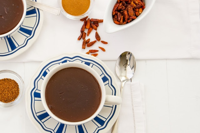 cinnamon & chile hot chocolate | Food | Pinterest