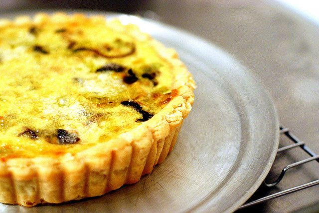 mushroom and leek quiche by smitten @Kate Moreau do it!! Made this ...