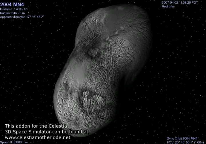 asteroid circling earth - photo #48