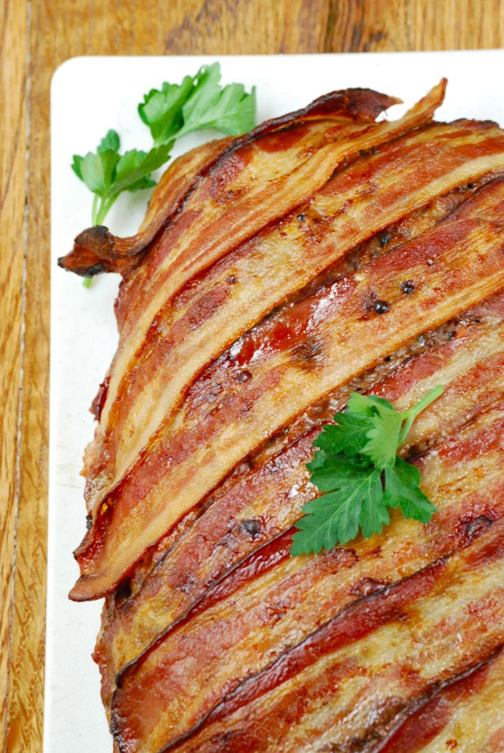 ... like this: bacon wrapped , bacon wrapped meatloaf and grass fed beef