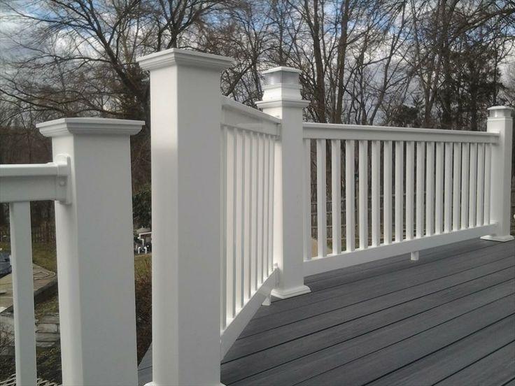 Builddirect longevity vinyl deck railing system