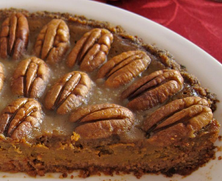 Pumpkin Pecan Pie -- gluten free, dairy free, AND free of refined ...