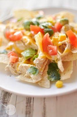 Crockpot Tomatillo Chicken | Food | Pinterest
