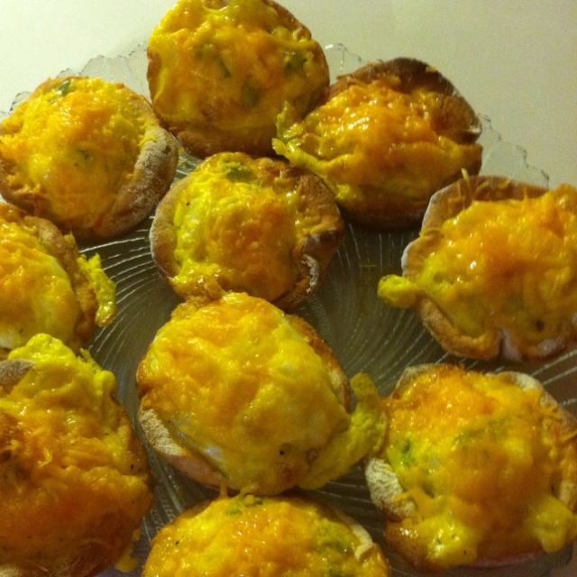 cups-my original recipe 1 can biscuits, roll out each one Eggs ...