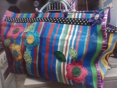 Bolsa de feira customizada